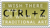 Ctrl+Z Stamp by GriffSGirl