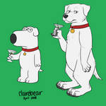 Brian Griffin from Family Guy