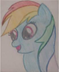 Rainbow Sketch by Intet22