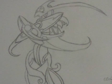Etched Champion Sketch