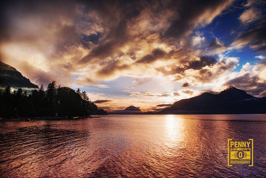 Porteau Cove at Sunset