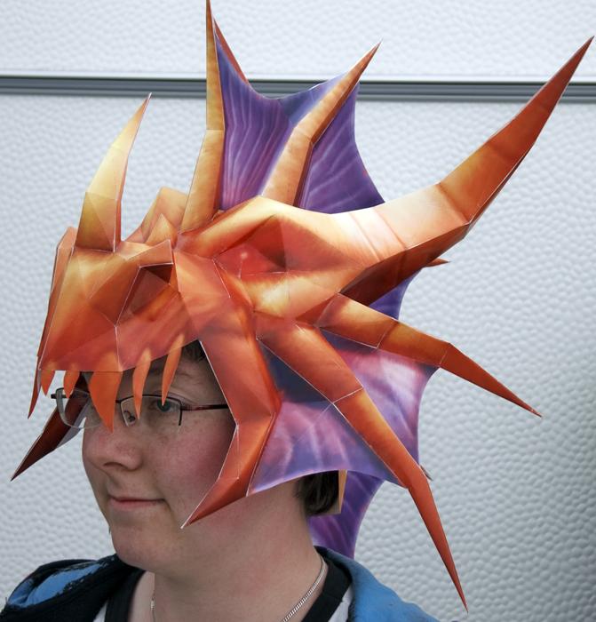 Dragonstalker Helmet by wingedLizz