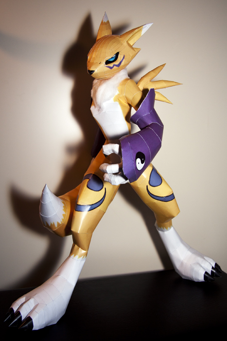 Renamon Final by wingedLizz