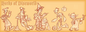 Nerds of Discworld by raisegrate