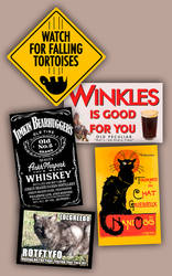 Discworld Con Signs by raisegrate