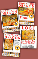Discworld Dragon Posters by raisegrate
