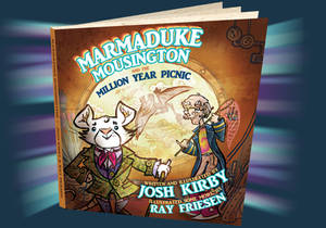 Illustrating  Long-lost Josh Kirby Children's book