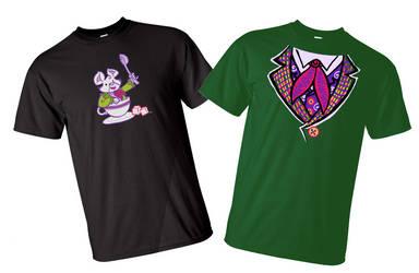 Two cool Tshirt designs
