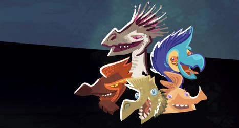 Raptors by raisegrate