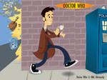 Doctor Who Kablooey Wallpaper