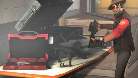 [SFM] Sniper gets a new weapon by Maddog1929