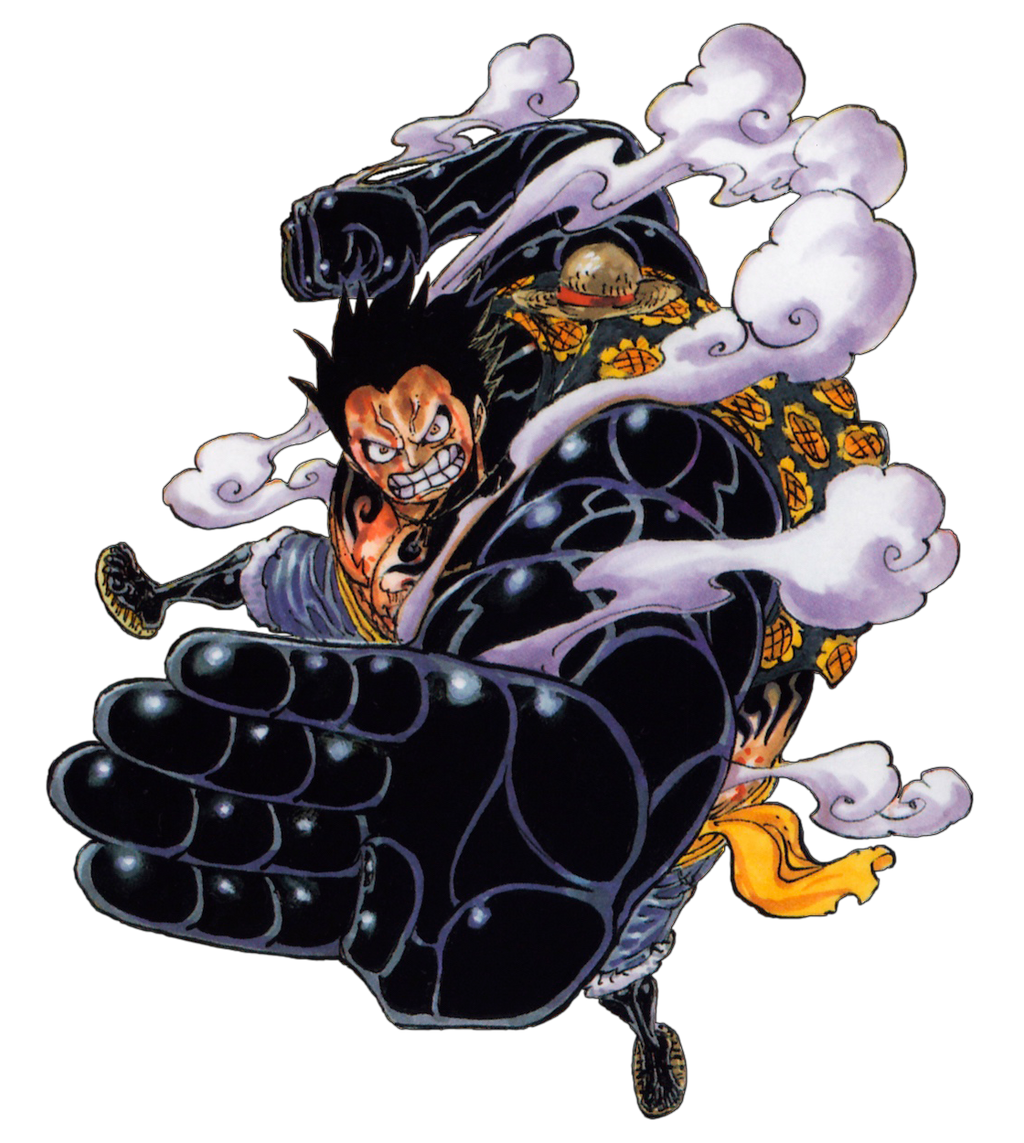 Luffy Gear 4 Gallery