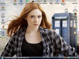 Karen Gillan Screenshot by mickmoart