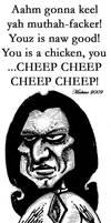 Johnny is a CHEEP CHEEP CHEEP