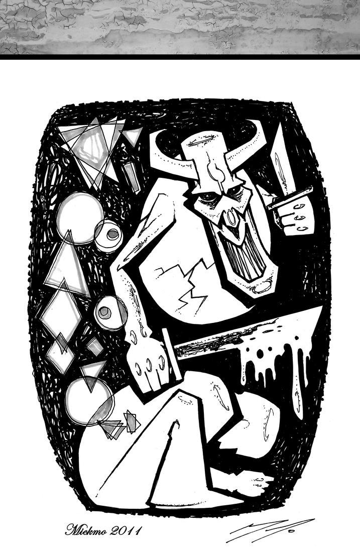 THE MASQUE - HARAKIRI KILLINGS by mickmoart