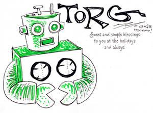 03 - TORG THE ROBOT!!!