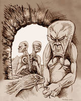 Ancient Lands Of Sorrow by mickmoart