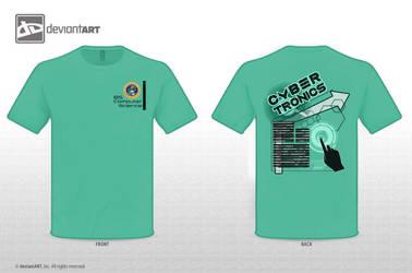 Cybertronics2013 t-shirt prototype