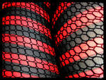 Fishnet Caught Stripes