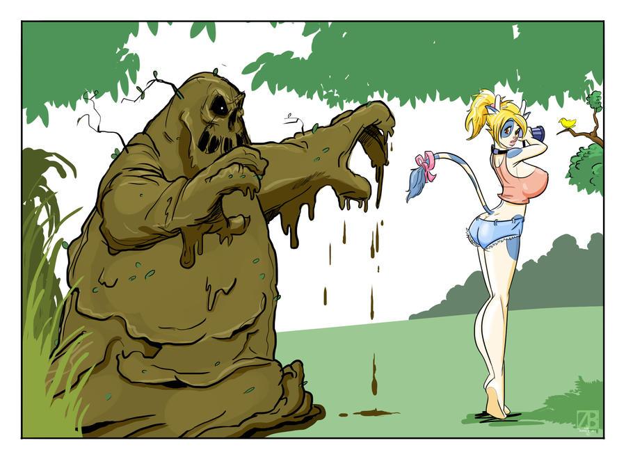 Mud Monster by ZaftigBunnyPress