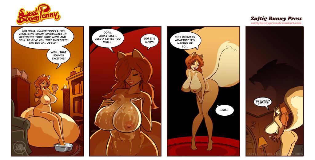 Sweet Buxom Penny No. 12 by ZaftigBunnyPress