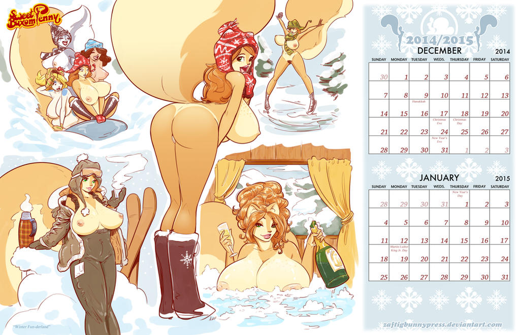 December2014-January 2015 by ZaftigBunnyPress