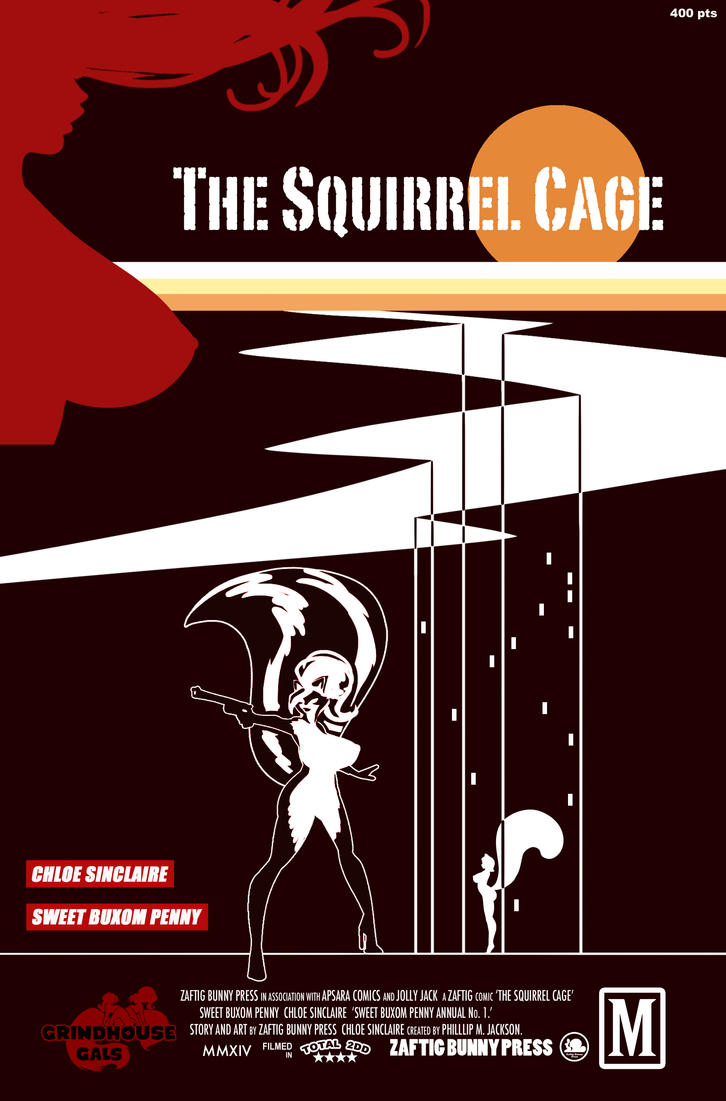 The Squirrel Cage by ZaftigBunnyPress