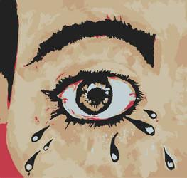 Crying Eye by anamar98