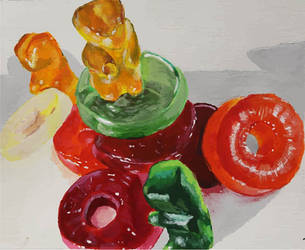Gummy Bears by anamar98