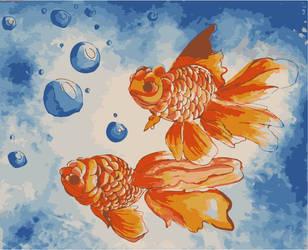 Goldfish by anamar98