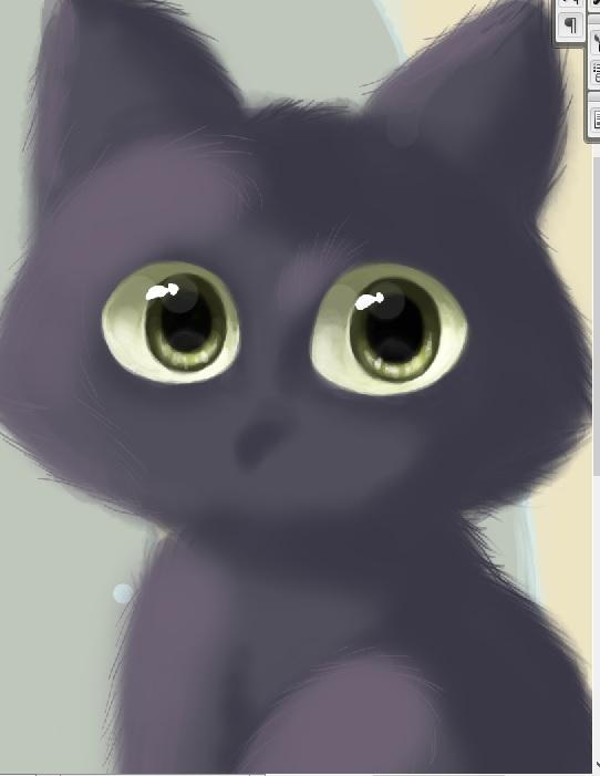 W.I.P. Little Kitty Cat by FairyWorld84