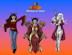 Witches of China
