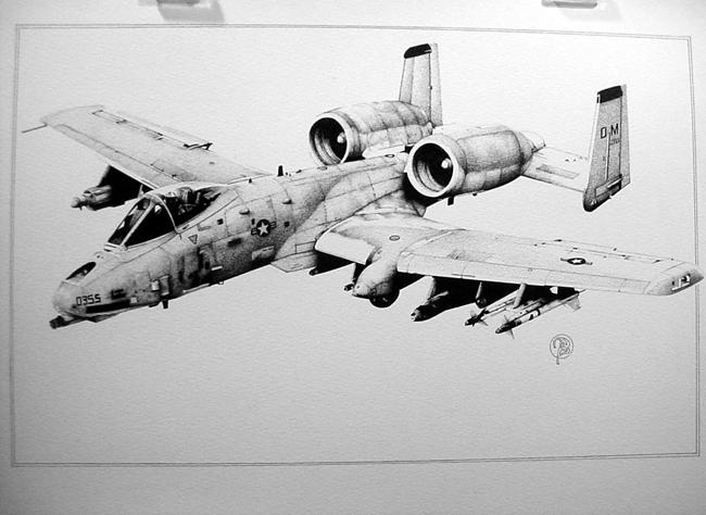 A10Warthog by bobbykro