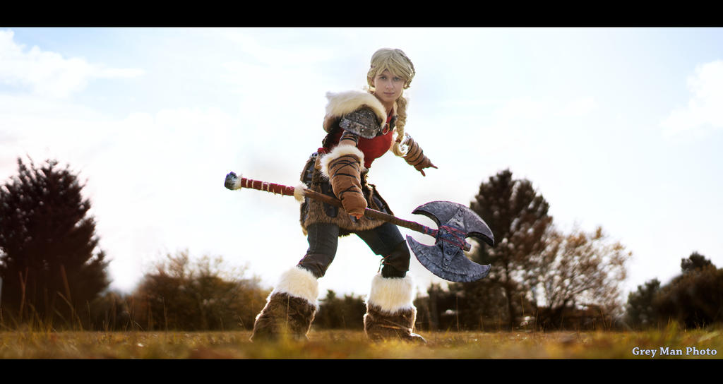 How to train your dragon 2 - Astrid - cosplay