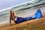 A Mermaid on the beach