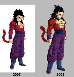 Gohan - Before and After by NeDan89