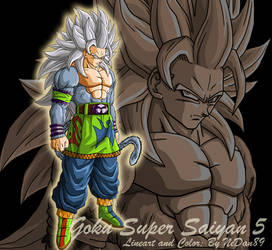Goku Ssj5 - Remake 2009 by NeDan89