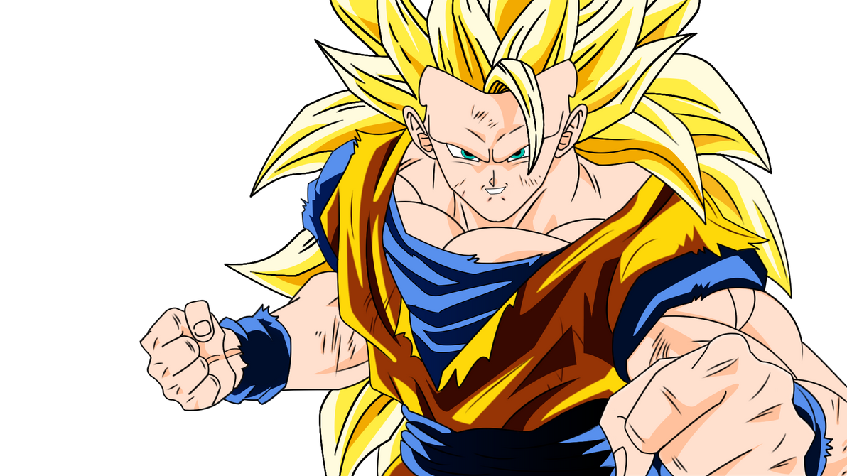 Goku Ssj3 Render By Desertwiggle On Deviantart