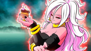 Majin Android 21 Wallpaper by DesertWiggle