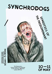 Synchrodogs solo show in London by Old-York