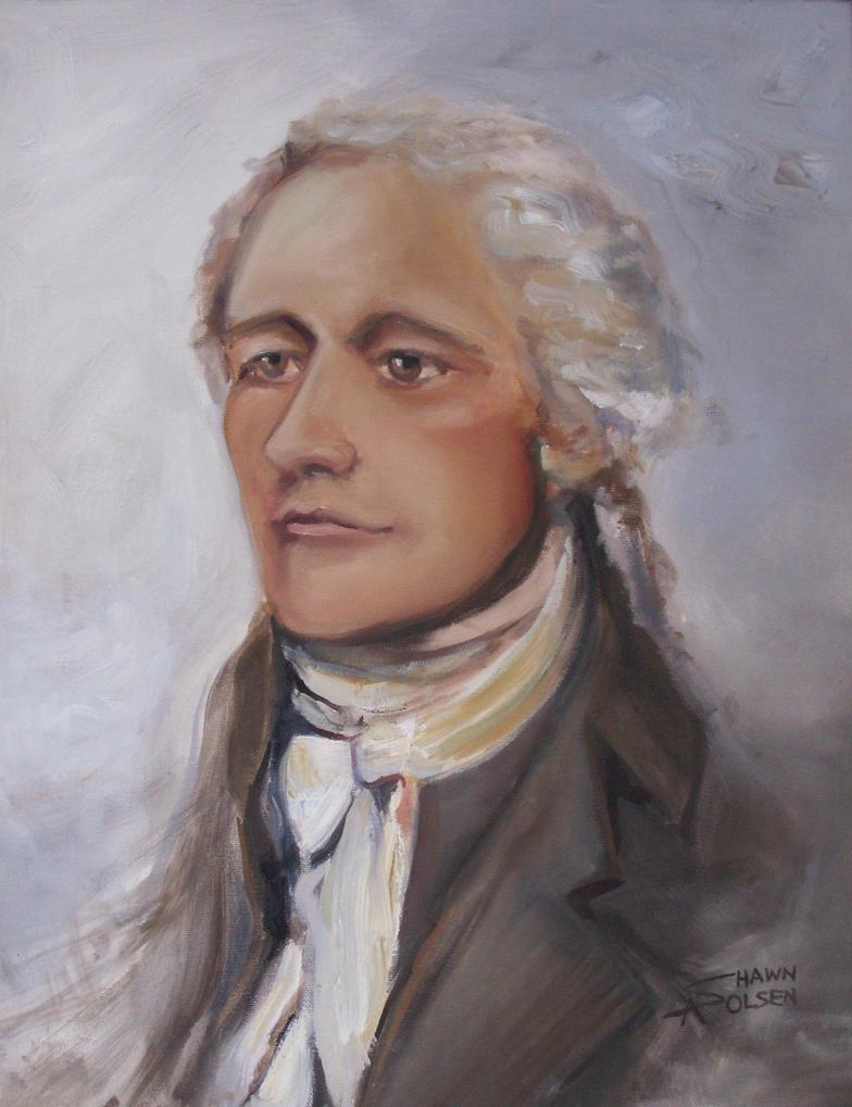 Alexander Hamilton by SAOlsen