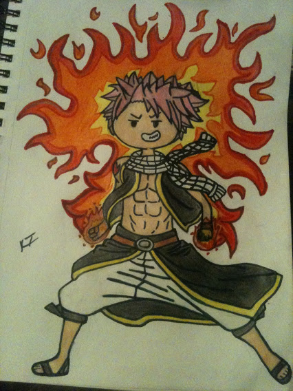 A.T - Fairy Tail - Natsu Dragneel by ChocolateSushiTime