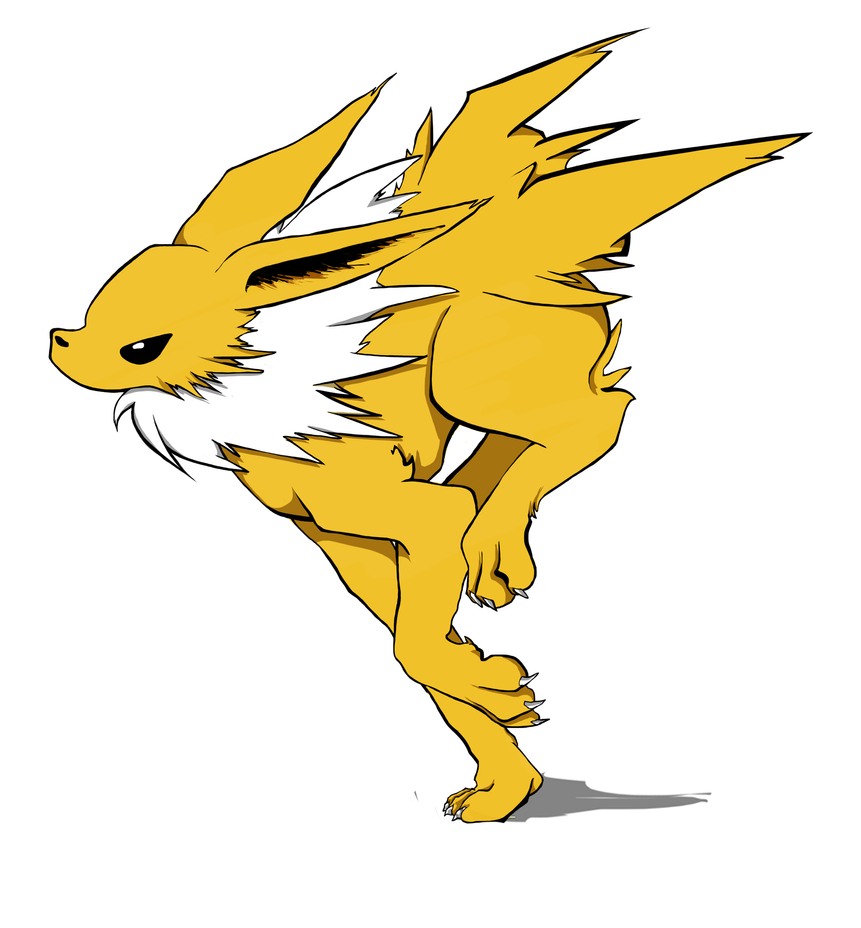 Jolteon by Art-Stew-Frou-Frou