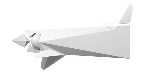 Draft for a new spacecraft - Slasher