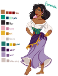 Esmeralda color palette