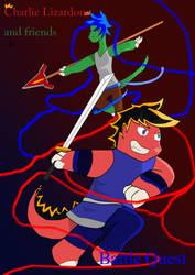Charlie Lizardon Battle Quest by dfighter