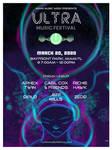 Ultra Music Festival Poster 3/3