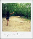 Wish you were here.