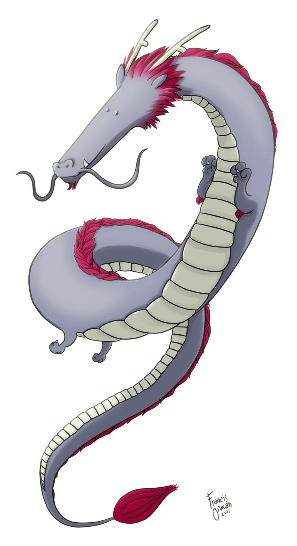 Oriental Dragons by FrancisOrtolan