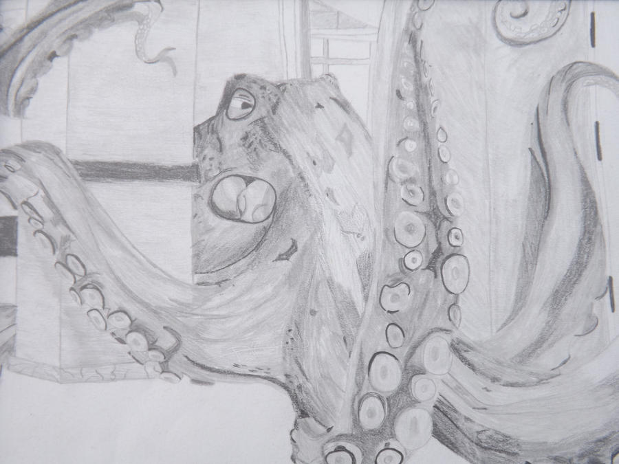 Giant octopus by Caty11 on deviantART